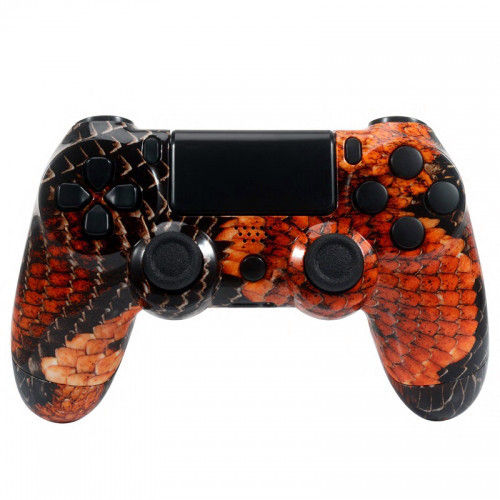 PS4 Controllergehäuse inkl. Mod Kit - Red Dragon