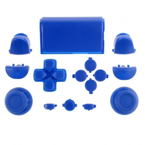 PS4 Controller Sticks und Tasten Set - Blau