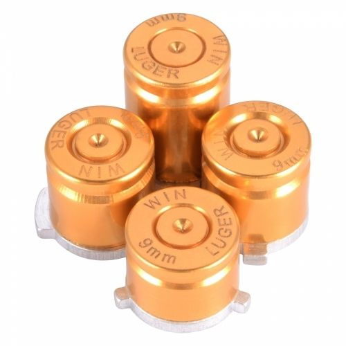 XB ONE Aluminium Bullet Buttons - Gold