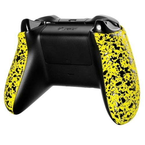 Xbox ONE Controller Side Panels - 3D Splashing Gelb