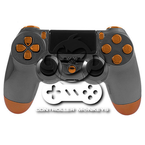 PS4 Controllergehäuse inkl. Mod Kit - Black Ops Chrome