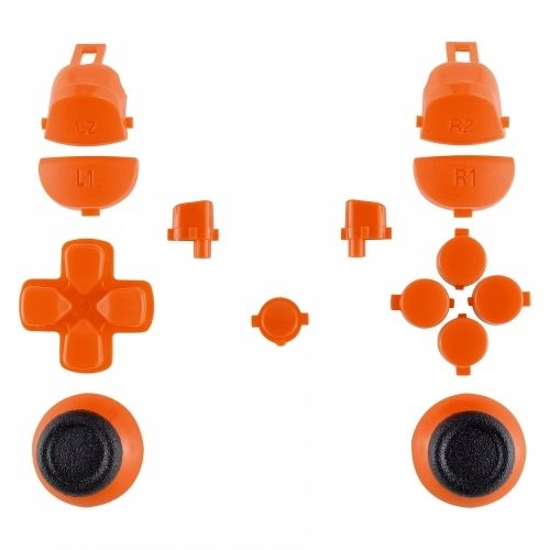 PS4 Controller Mod Kit für JDM-040 Modell - Orange