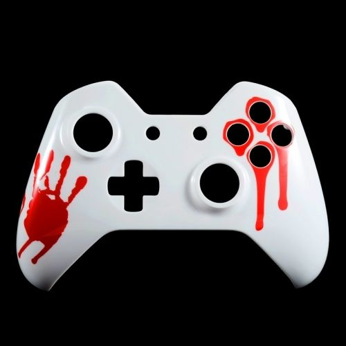 Xbox ONE Controller Oberschale - Blood Hands