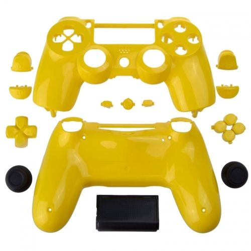 PS4 Controllergehäuse inkl. Mod Kit - Candy Gelb