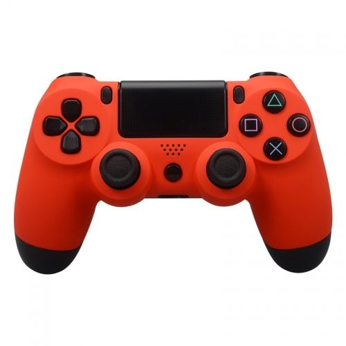 PS4 Controller Oberschale für Alte Modelle - Soft Touch Orange
