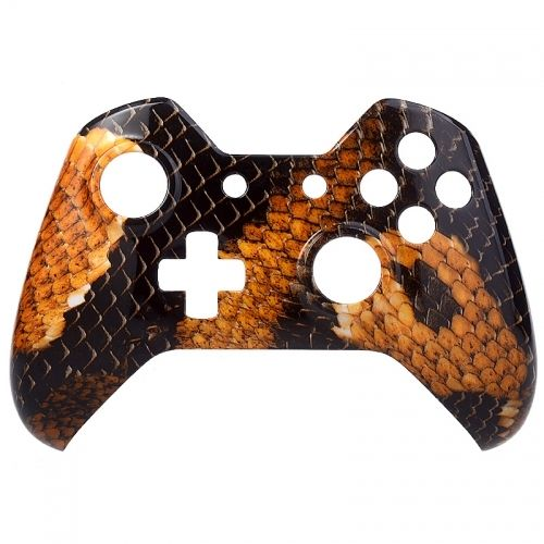 Xbox ONE Controller Oberschale - Gold Dragon