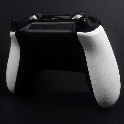 Xbox ONE Controller Side Panels - Cracked White
