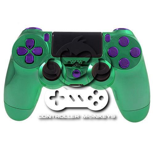 PS4 Controllergehäuse inkl. Mod Kit - Incredible Hulk