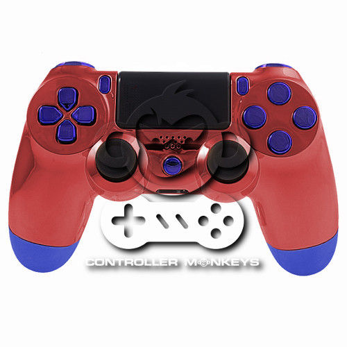 PS4 Controllergehäuse inkl. Mod Kit - Amazing Spider-Man