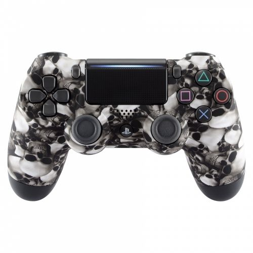 PS4 Oberschale für JDM-040 Modell - Skull and Ghost